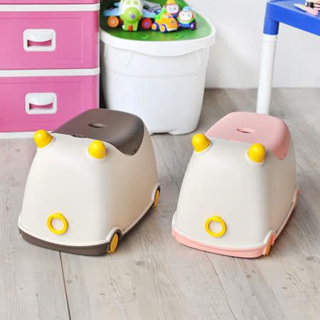 【亮眼新上市】牛BUBU玩具收納車 -friDay購物 x GoHappy