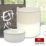 【日本長谷園伊賀燒】熟成名人醃漬罐+醃漬用重石(雙色款)