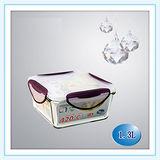 任選 《闔樂泰》酷鮮玻璃微烤烹煮保鮮盒(方型-1.3L)