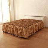 【LOHA】品味生活5尺雙人床組三件式-床頭箱+床底+床墊(共四色)