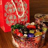 《歐洲假期》歐洲什錦煙火巧克力罐 500g 附手提袋