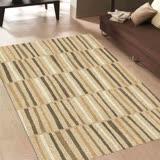 【范登伯格】達文西-立體視覺長條格紋時尚進口地毯.-160X230cm