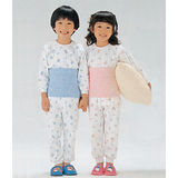 【Gunze郡是】兒童保暖純綿肚圍 (藍)