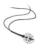 Brosway Nautical 不鏽鋼南十字星墜子黑色項鍊