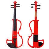 ★集樂城樂器★JYC-V7靜音提琴(熱情火紅)~棗木配件升級版!!限量下殺