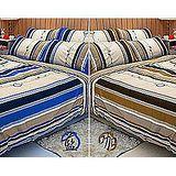 名流寢飾 精梳棉兩用被床包組-尋夢園 雙人特大6*7尺