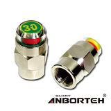 【安伯特】胎壓偵測氣嘴蓋(一組2入)-30psi