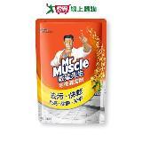 威猛先生愛地潔地板清潔劑補充包-檸檬1800ml