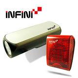 《INFINI VISON》高亮度專業自行車燈組(CANNON +SQUARE)