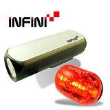 《INFINI VISON》高亮度專業自行車燈組(CANNON +CAPSULAR)