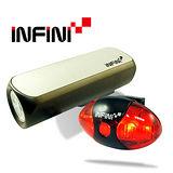 《INFINI VISON》高亮度專業自行車燈組(CANNON +ALIEN)