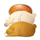 可愛小熊。微波爐加熱保暖防寒隨身型暖暖包