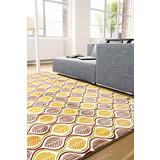 【范登伯格】法蘭絨原野樹葉柔軟摺疊好收納進口地毯-100X140cm