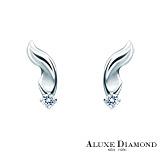 A-LUXE 亞立詩鑽石 My Angel 0.06克拉美鑽耳環
