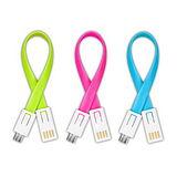 【KINYO】Micro USB吊飾充電傳輸線(USB-46)