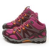 MERRELL女款 GRASSBOW MID SPORT GORE-TEX®多功能健行運動鞋ML48340-桃紅