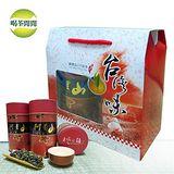 【喝茶閒閒】嚴選阿里山高冷茶提盒組(150公克*2罐)