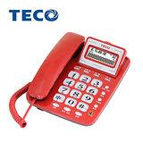 TECO東元來電顯示有線電話機 XYFXC107