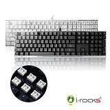 i-Rocks IK6 水晶USB鍵盤