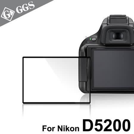 GGS第四代LARMOR金鋼防爆玻璃靜電吸附相機保護貼-NIKON D5200專用 -friDay購物 x GoHappy