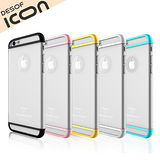 DESOF iCON MIX iPhone6 Plus 5.5吋漾彩透明保護殼