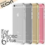 DESOF iCON iPhone6 Plus 5.5吋透明超薄果凍保護套