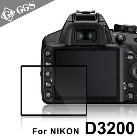 GGS第四代LARMOR金鋼防爆玻璃靜電吸附相機保護貼-NIKON D3200專用 -friDay購物 x GoHappy