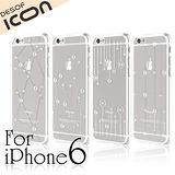 DESOF iCON iPhone6 4.7吋透明雨露立體硬式保護殼