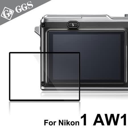 GGS第四代LARMOR金鋼防爆玻璃靜電吸附相機保護貼-NIKON 1 AW1專用 -friDay購物 x GoHappy
