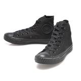 Converse 男/女鞋 基本款高筒休閒鞋-黑-M3310C
