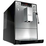 Melitta小型全自動咖啡機-CAFFEOⓇSOLO&milk晶鑽銀 限時送咖啡豆2包+咖啡課程體驗卷