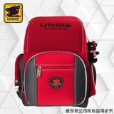 【UNME】輕量日系-人體工學護脊超書包(3211-深紅)