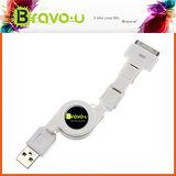 Bravo-u USB 三合一傳輸線 Mini B Micro B 30 Pins