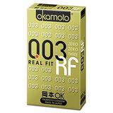 Okamoto岡本003RF極薄貼身衛生套4入(盒)
