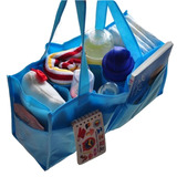 媽媽包內襯手提收納格-袋中袋(藍色兩入)