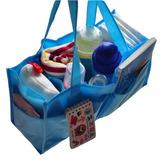 媽媽包內襯手提收納格-袋中袋(藍粉各一)
