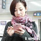【LUS.G】古典漾彩-喀什米爾羊絨花紋流蘇長圍巾