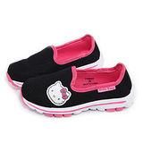 童鞋城堡-Hello Kitty 中大童 極輕量透氣運動鞋715920-黑