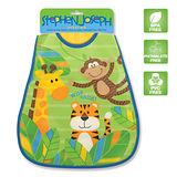 【美國Stephen Joseph】童趣造型防水圍兜-叢林動物園