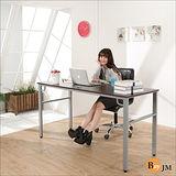 《BuyJM》環保低甲醛防潑水160公分穩重型工作桌/電腦桌