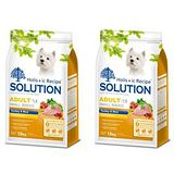 SOLUTION耐吉斯 成犬 高適口性配方 火雞肉+田園蔬菜 1.5公斤 x 2包
