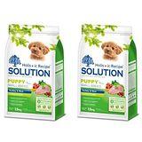 SOLUTION耐吉斯 幼犬 聰明成長配方 火雞肉+田園蔬菜 1.5公斤 x 2包