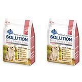 SOLUTION耐吉斯 成幼貓 低敏護毛配方 紐西蘭鹿肉&深海鮭魚 6磅 x 2包
