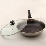 台灣好鍋藍水晶享樂鍋(28cm 平底鍋)