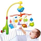 【meibeile】快樂森林嬰幼兒旋轉音樂床鈴床掛轉鈴音樂搖鈴