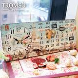 TROMSO無框畫時鐘-巴黎熱氣球(桌曆)