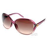GUCCI太陽眼鏡 (愛心透紫色) #GG3525KS WNYK8