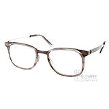BYWP 光學眼鏡 BY13034 GSW (水晶灰) 經典紳士風