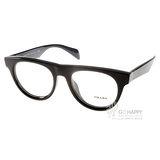 PRADA眼鏡 義式經典(黑)# VPR08QF 1AB1O1