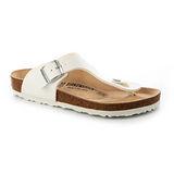 BIRKENSTOCK 044731。RAMSES 拉美西斯 夾腳拖鞋(白)